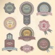 Royalty-Free Stock Vector Image: Seal and Award collection