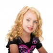 Beautiful face of a young girl — Stock Photo #5832558