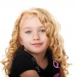 Beautiful face of a young girl — Stock Photo