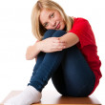 Feeling Lonely teenager girl — Stock Photo #6001007