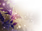 Klasyk kwiatowy tło — Wektor stockowy