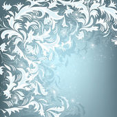 Hoar-frost background — Stock Vector