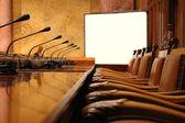Conference room — Stock fotografie