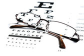 Snellen Chart — Stock Photo