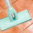 Crystal clean floor — Stock Photo