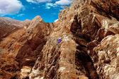 Bergsklättring — Stockfoto