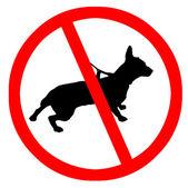 No pets — Stock Photo