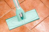 Crystal clean floor — Stock Photo