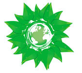 Green planet — Stockvector