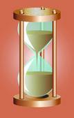 ベクトル砂時計 — ストックベクタ