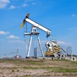 Stock Photo: Oil derrick
