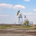 Oil derrick — Stock Photo