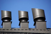 Rooftop vents — Stock Photo