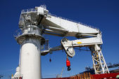 The ship crane — Stock Photo