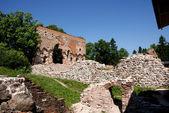 Ruinas de un castillo — Foto de Stock