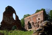 Ruïnes van een kasteel — Stockfoto
