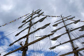 The mast — Stock fotografie