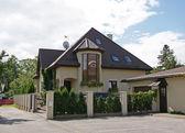 The modern house — Stock Photo