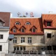 Stock Photo: Buildings in old Tallinn
