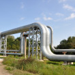 Stock Photo: Pipe-bridge