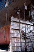 Ship repair — Stock Photo