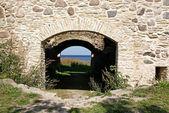 Bir kale kalıntıları — Stok fotoğraf