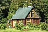 La casa de madera — Foto de Stock