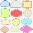 Cute frames collection - Stock Vector