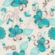 Retro floral seamless pattern — Stock Vector #5588979