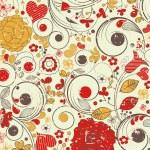 Vintage floral pattern — Stock Vector #5853807