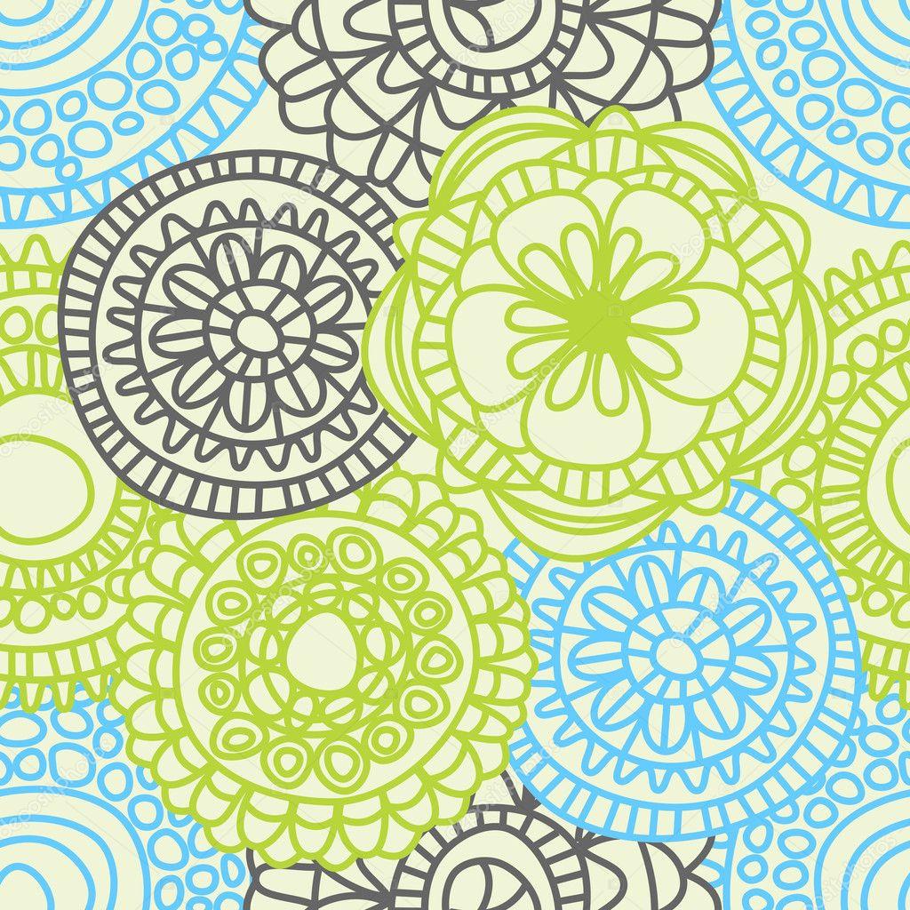 stylish floral seamless pattern � stock vector 169 danussa