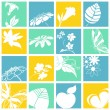 Nature icons — Vector de stock #6496599