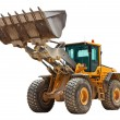 Yellow bulldozer — Stock Photo #5823778