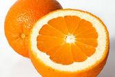 Oranžová izolované — Stock fotografie