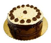 шоколад и карамель торт — Стоковое фото