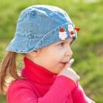 Cute little girl — Stock Photo #5649774