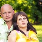 Pregnant couple — Stock Photo