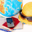 Stock Photo: Traveling all over world