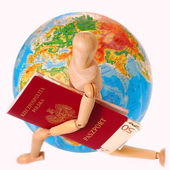 Traveling all over the world — Stock Photo