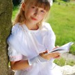 Girl going to the first holy communion — Stock Photo #5806245