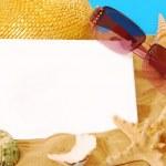 Summer holidays card — Stock Photo