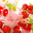 Strawberry milkshake — Stock Photo #5851388