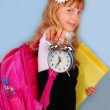 Time for school — Stock Photo #6143419