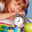 Royalty-Free Stock Photo: Wake-up ! Time for school !