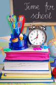 Tempo per la scuola — Foto Stock