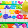 Back to school background — Stock Photo #6450765