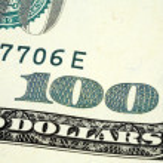 Hundred dollar banknote — Stock Photo