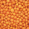 Red lentils background - Stock Photo