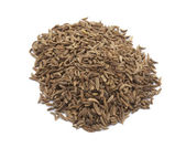 Cumin seeds, indian spice — Stock Photo