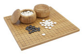 GO boardgame — Stock Photo